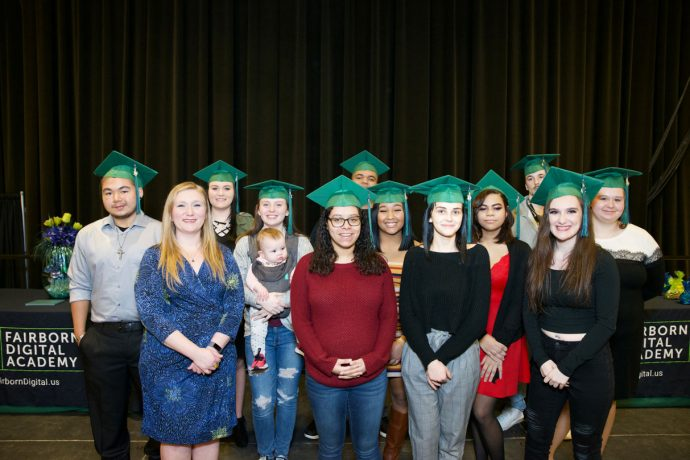 Seniors Graduate from Fairborn Digital Academy