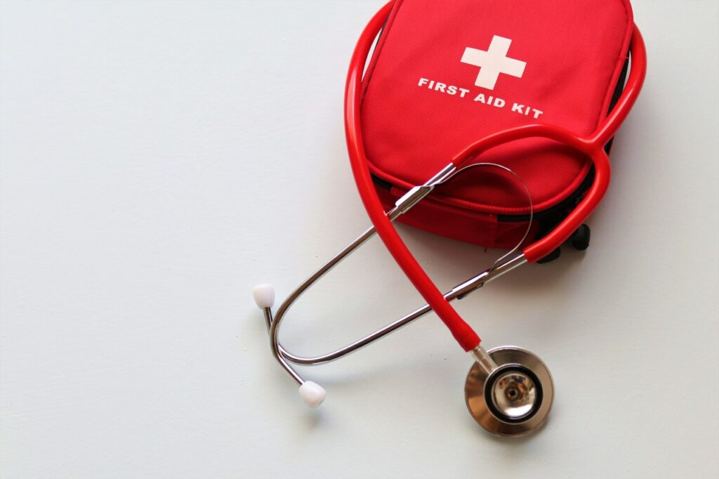 first aid kit learning CPR certifications